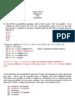 CN2001 comentada