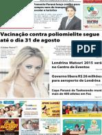 Jornal União - Edição da 2ª Quinzena de Agosto de 2015