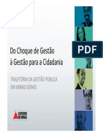 História Da Gestão Pública de Minas Gerais