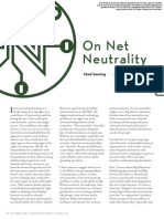 On Net Neutrality