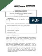 Planificación de La Enseñanza PRÁCTICAS DEL LENGUAJE1