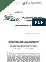 Bioecon. en a. Latina