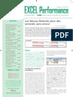Excel Performance Numero 10 - Octobre 2009