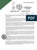 Resolucion de Nombramiento de Personal Asistencial