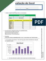 Prova Excel Alunos