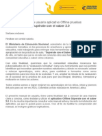 Manual Pruebas Superate Offline