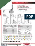 Datos Tecnicos Acelerometro AC102-1A