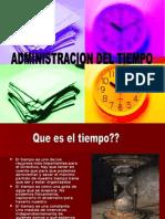 Administración Del Tiempo 1