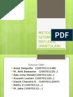 METODE SEISMIK REFLEKSI (PANTULAN).pptx