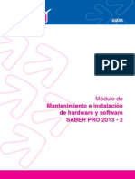 Manten e Instal de Hardware y Software 2013 2