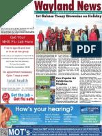 The Wayland News September 2015