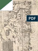 Plano de Chile 1500
