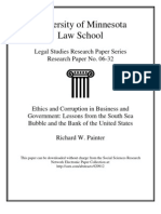 Ethics and Corruption in Business and Government