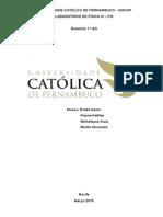 Relatório ddasde Laboratório de FÃ-sica 3