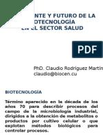 FUTURO DE LA BIOTECNOLOGIA