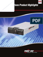 Powerone Catalog Highlights 2012