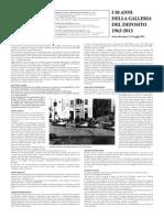 I 50 anni della Galleria del Deposito
