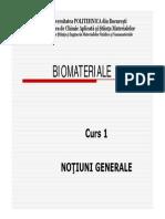 188378837 Curs 1 Notiuni Generale Biomateriale
