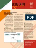 La OIT y La Responsabilidad Social de La Empresa(RSE)