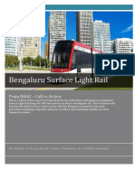 Bengaluru Surface Light Rail