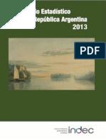 INDEC. Anuario Estadístico 2013