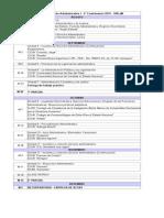 Cronograma 2° Cuatrimestre. Derecho Administrativo. UNLaM