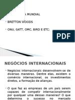 Aula 3 - Negocios Internacionais - Operações e Reguladores