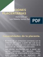 ALTERACIONES PLACENTARIAS