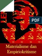 V i Lenin Materialisme Dan Empiriokritisme