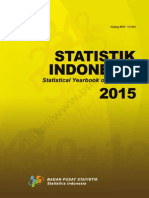 Statistik Indonesia 2015 ( BPS )