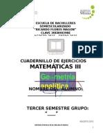 Cuadernillo de Matematicas III
