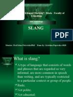 MEL Lexicology Slang Kristina Popovska 4828