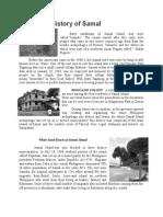 History of Samal