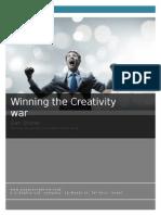 Winning the Creativity War