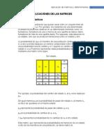 Aplicaciónes de Las Matrices