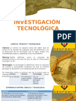 Cenfomin Investigacion Tecolgica