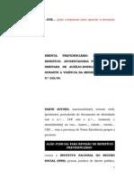 6.1- Pet. inicial - Revisão - Aposentadoria por invalidez precedida de auxílio-doença Medida Provisória n° 242 de 2005