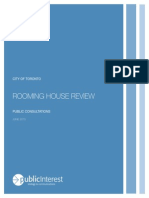 Rooming House Review Consultant's Report June 2015