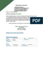 Indicação n 0250-2015
