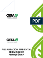 OEFA - EMISIONES ATMOSFERICAS