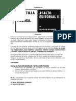 Programación Asalto Editorial II