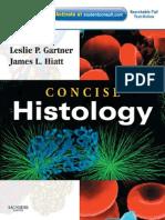 Concise Histology- Leslie P Gartner & James L Hiatt (1E)