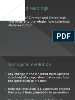 Chapter 1 Intro Biological Evolution--Study Version