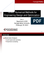 Numerical Methods for Engineering Design and Optimization