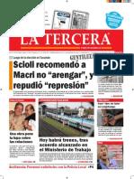 Diario La Tercera 26.08.2015