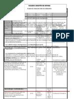 Plan y Programa de Evaluacion Estatal Primero Agosto2015