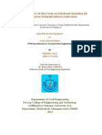 Thesis on Improvementof Silty Soil as Subgrade Material by Stabilizing With Bituminous Emulsion Final - Copy 2