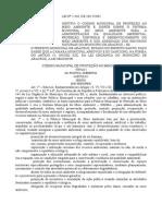 Lei Nº 2.436-2001 Código Municipal - Aracruz ES