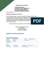 Indicação n 0232-2015