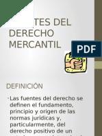 fuentes del D° Mercantil